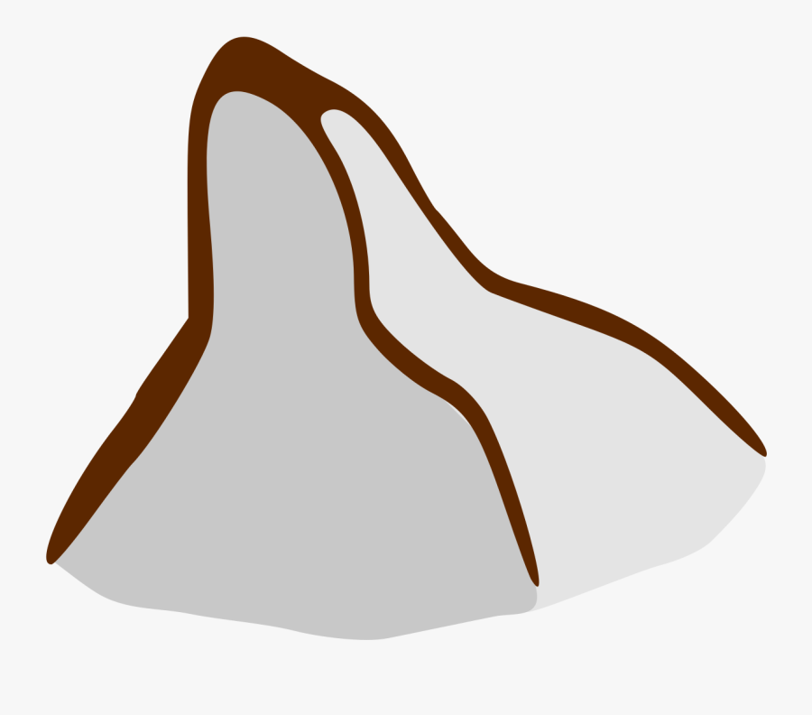 "Free Clip Art ""rpg Map Symbols - Mountain Map Symbol Png, Transparent Clipart"