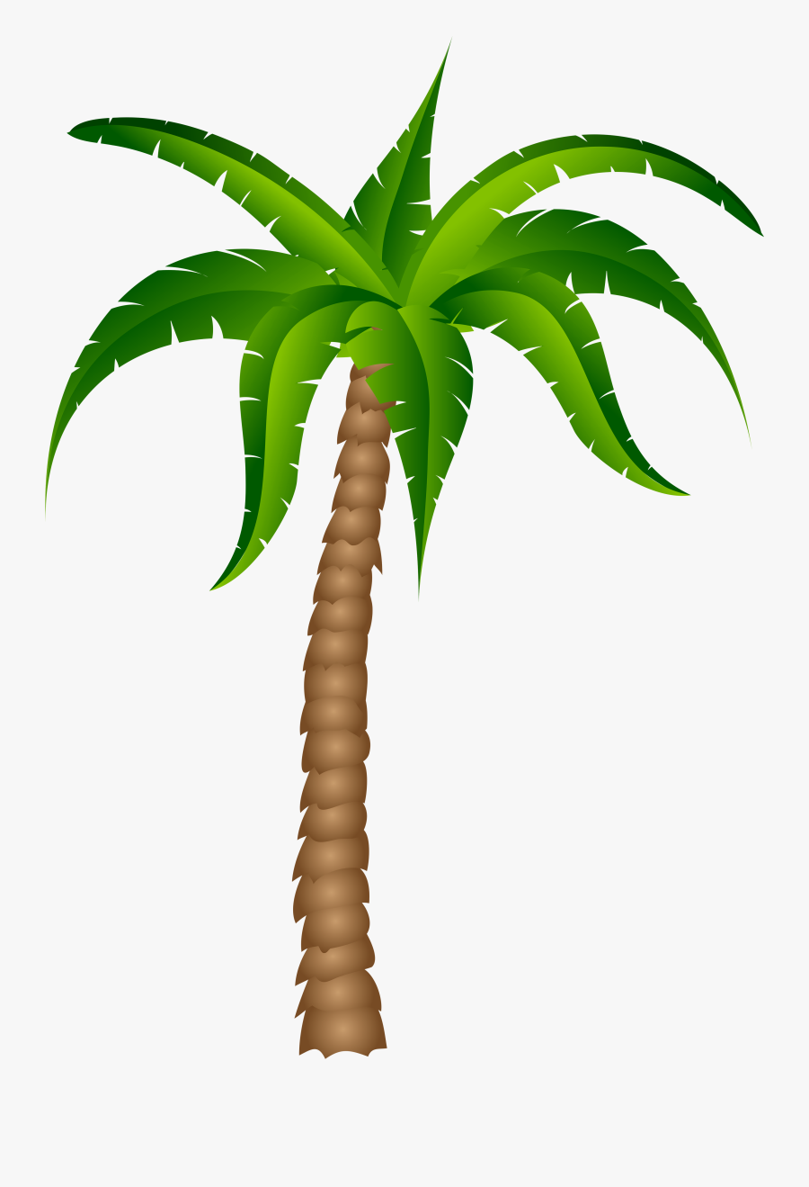 Palm Tree Palm Best Clipart - Palm Tree With No Background, Transparent Clipart