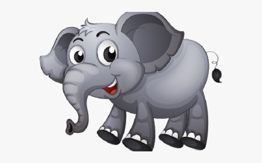 Animated Elephant Clipart - Elephant Jumping A Fence ...