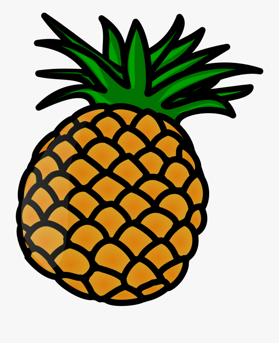 Pineapple - Pineapple Free Clipart, Transparent Clipart