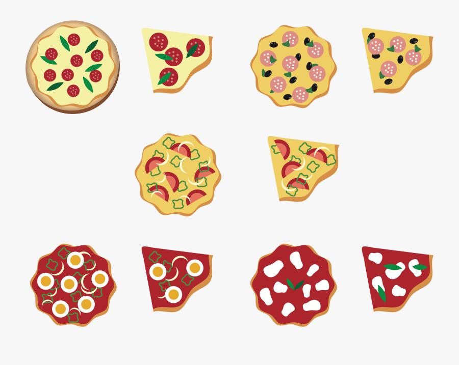 Pizza Clipart Big Pizza - Pizza Clipart Small, Transparent Clipart