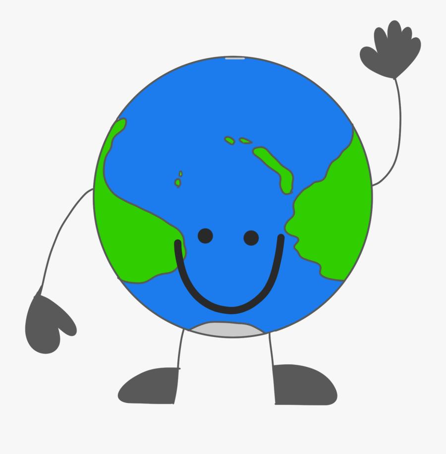 Transparent Globe Clipart Png - Cartoon Transparent Background Earth, Transparent Clipart
