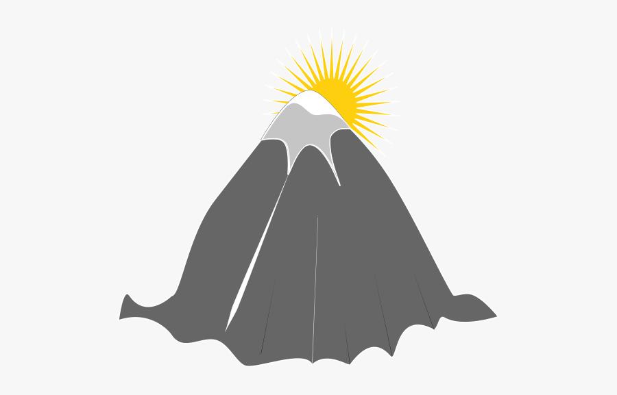 Logo,walrus,mountain - Vektor Gunung Dan Matahari, Transparent Clipart