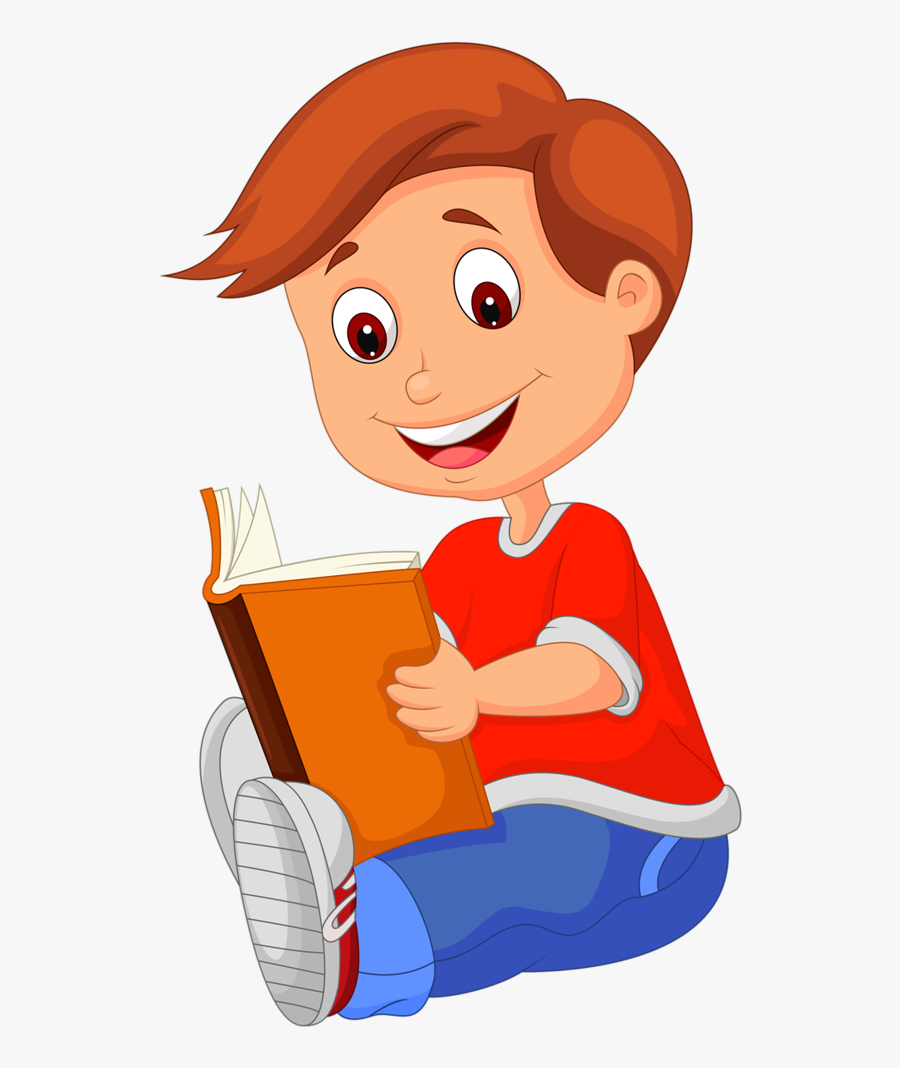 Clip Art Book Girl Reading: A Novel Vector Graphics - Child - Sabine  Cartoon Transparent PNG