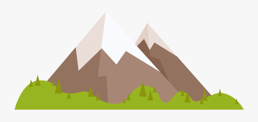 Cartoon Clip Art Transprent - Clipart Cartoon Mountain Png, Transparent Clipart