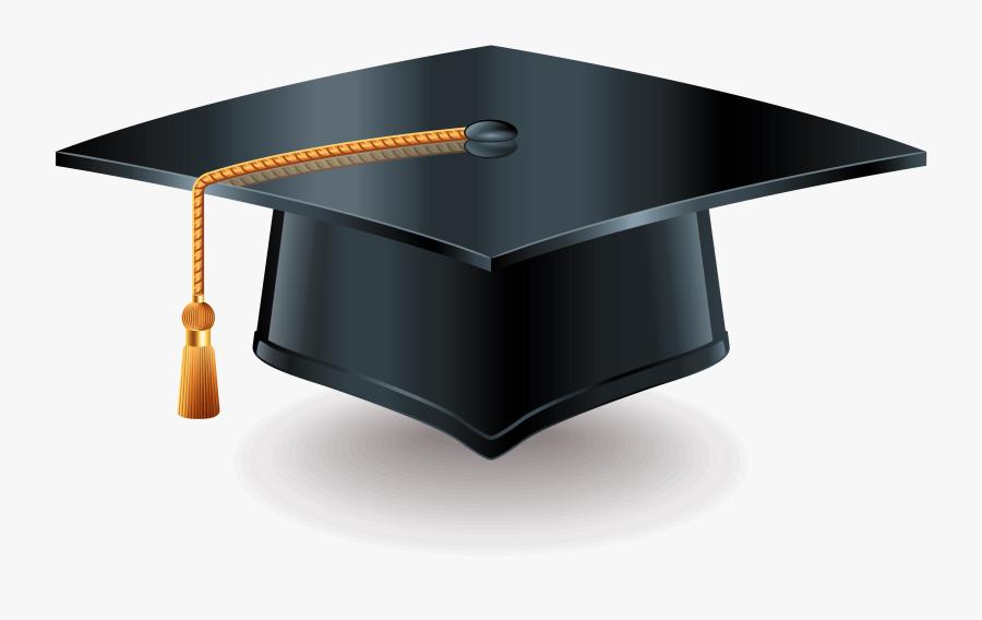 Square Academic Cap Diploma Graduation Ceremony Stock - Graduation Cap Diploma Png, Transparent Clipart
