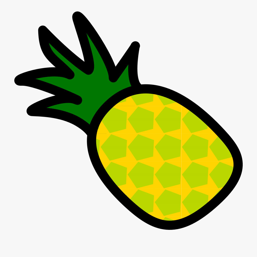 Pineapple Icon - Pineapple Clipart Without Background, Transparent Clipart