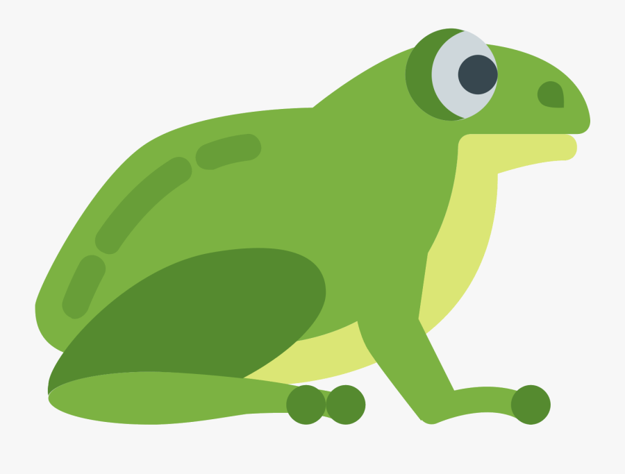 Transparent Cute Hopping Frog Clipart - Frog Clipart Transparent Background, Transparent Clipart