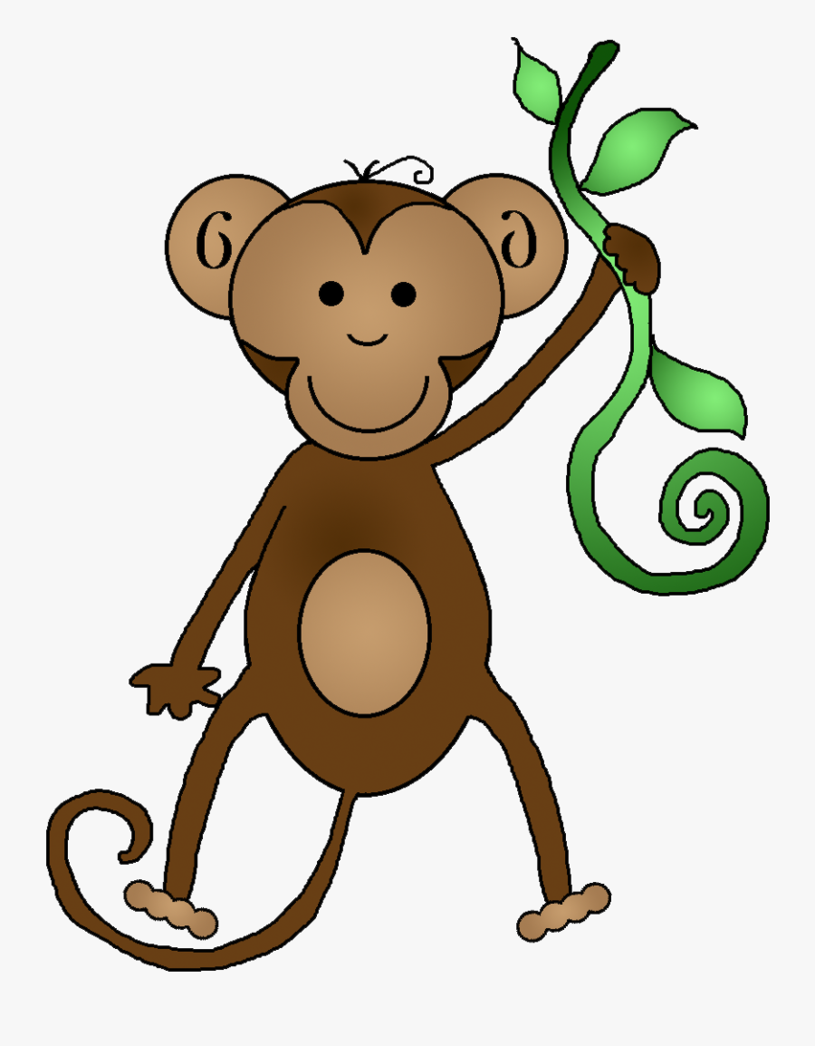 Monkey Black And White Monkey Clipart - Free Clipart Monkey, Transparent Clipart