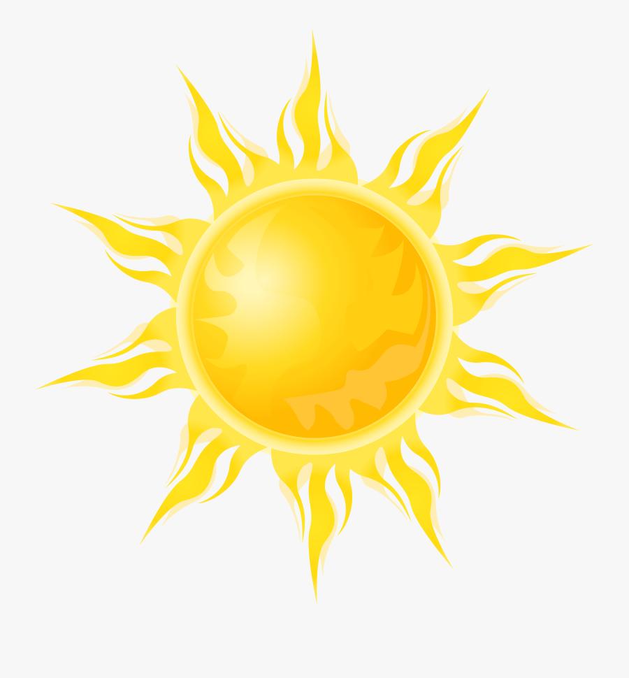 Transparent Sun Png Clipart - Realistic Sun Clip Art, Transparent Clipart