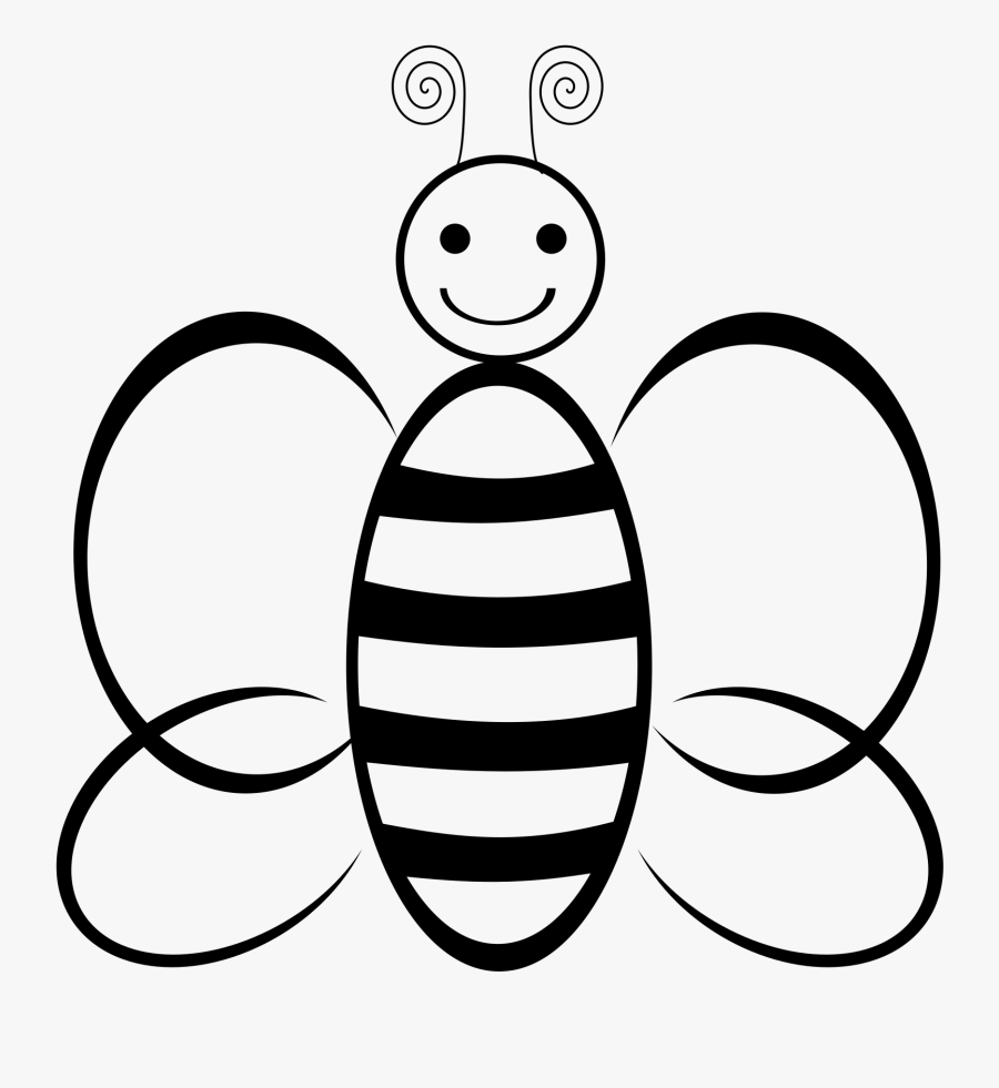 Batmobile Drawing Comic Book - Honey Bee Body Clipart Black And White, Transparent Clipart