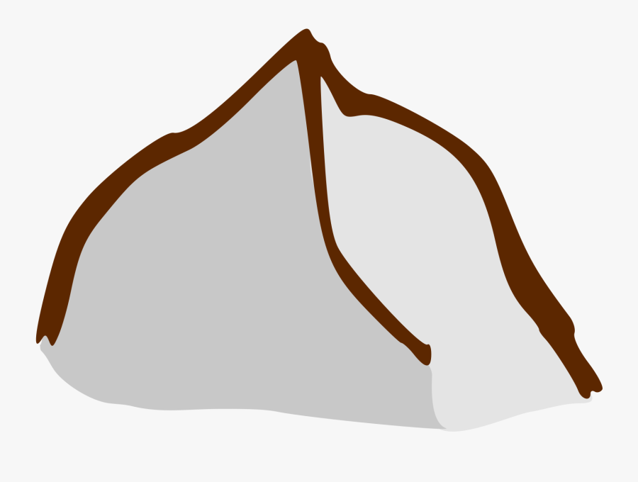 Mountain, Terrain, Heights, Outdoor, Peak, Top - Mountain Symbol On A Map, Transparent Clipart