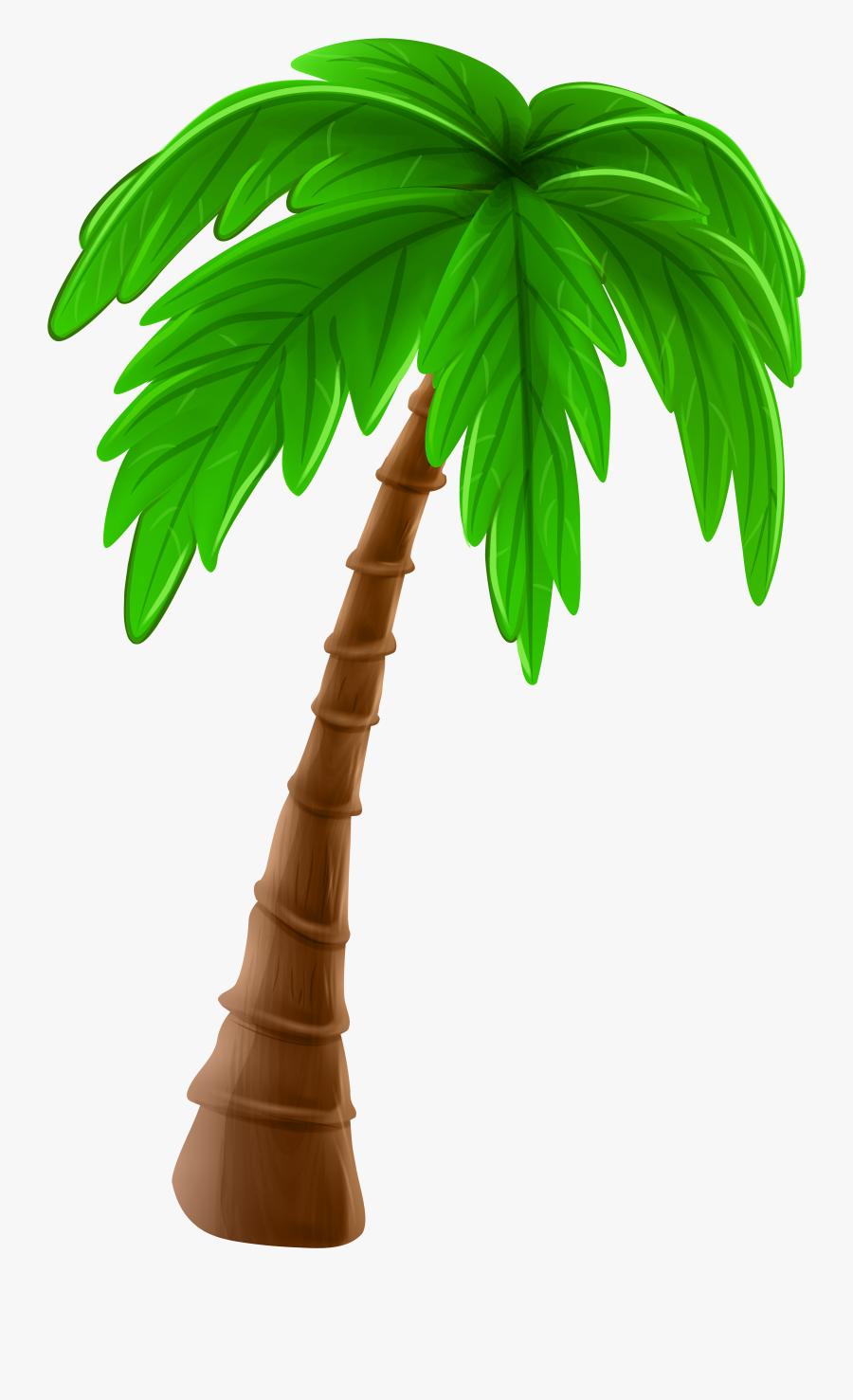 Free To Use & Public Domain Palm Tree Clip Art - Cartoon Transparent Coconut Tree Png, Transparent Clipart