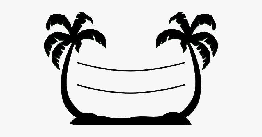 Volleyball Beach Clipart Palm Tree Clip Art Free Transparent - Palm Tree Beach Silhouette, Transparent Clipart