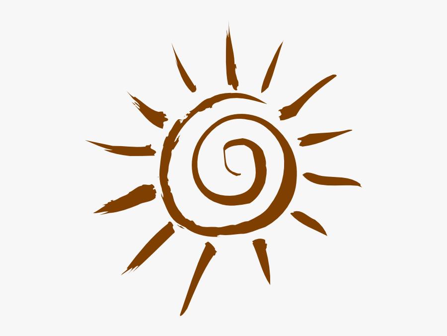 Transparent Sun Clip Art Png - Clipart Orange Sun, Transparent Clipart