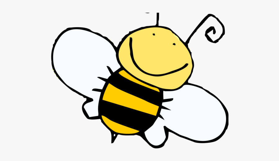 Honey Bee Clipart - Cartoon Honey Bee Drawing, Transparent Clipart
