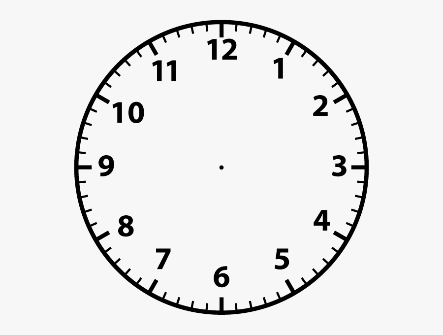 Collection Of Free Vector - Blank Analogue Clock Face ...