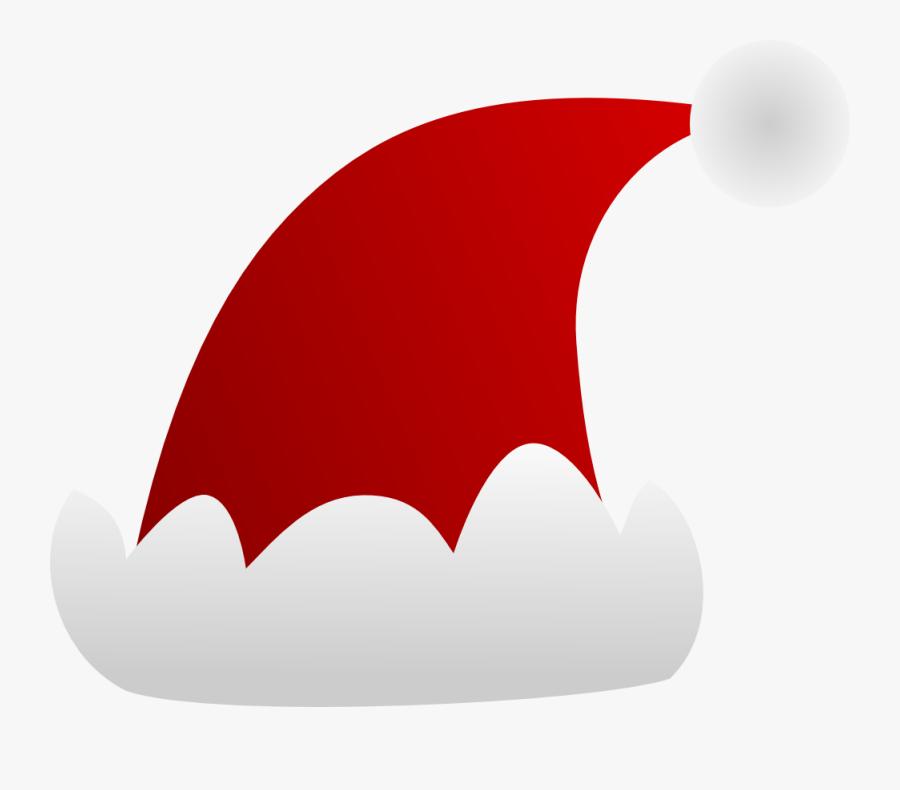 Graduation Hat Free Clip Art Of A Graduation Cap Clipart - Santa Claus Hat Decal, Transparent Clipart