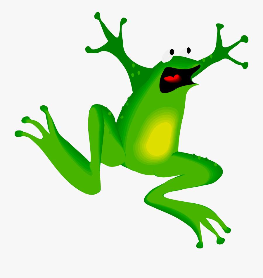 Clipart - Frog Clip Art, Transparent Clipart
