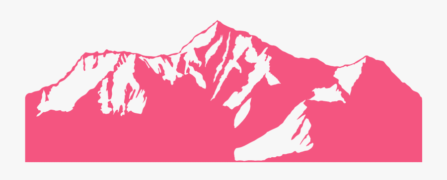 Mountain Clipart Mount Everest - Mount Everest Silhouette, Transparent Clipart