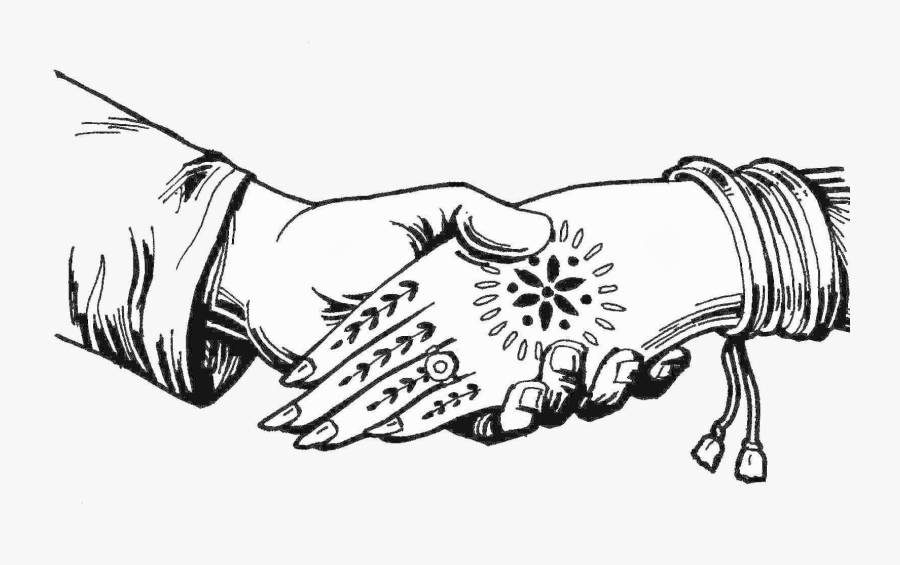 Wedding Clipart Black And White Look At Clip Art Images Indian Wedding Hands Clipart Free Transparent Clipart Clipartkey Png black and white library chalk heart clipart heart. indian wedding hands clipart