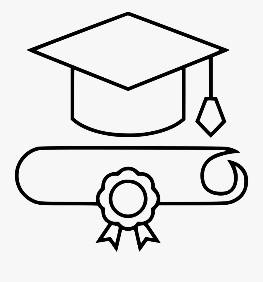 Graduation Cap Drawing Kisspng Clipart Png Download