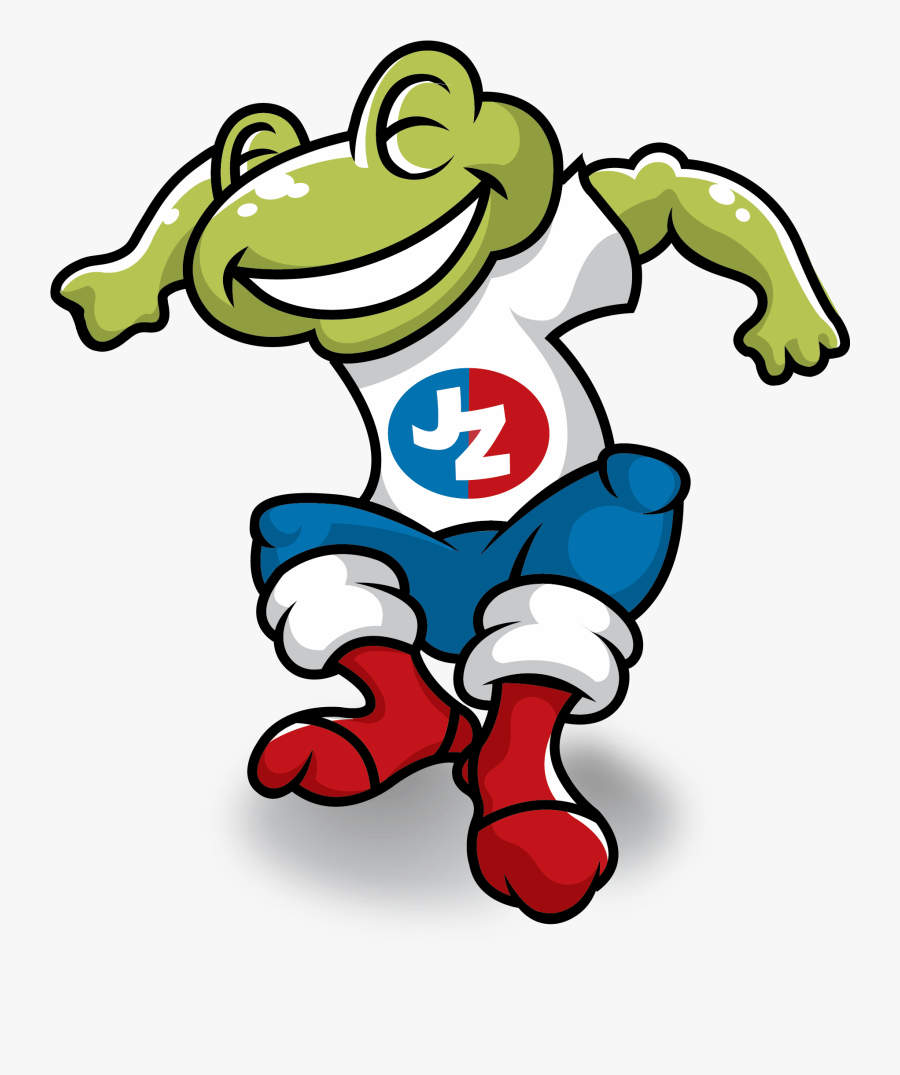 Jump Zone Buffalo Grove - Jump Zone Frog, Transparent Clipart