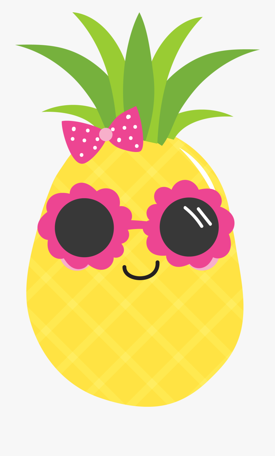 Food Clip Art Cool - Cute Pineapple Clipart , Free ...