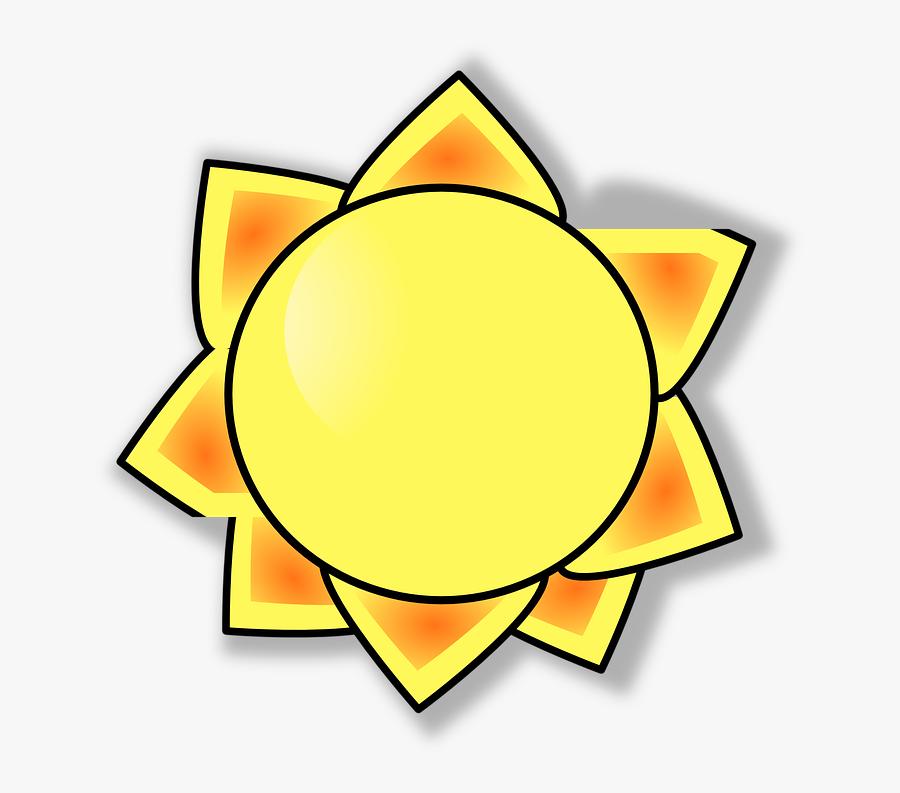 Warmth Clipart Sun Heat - Sun Clip Art, Transparent Clipart