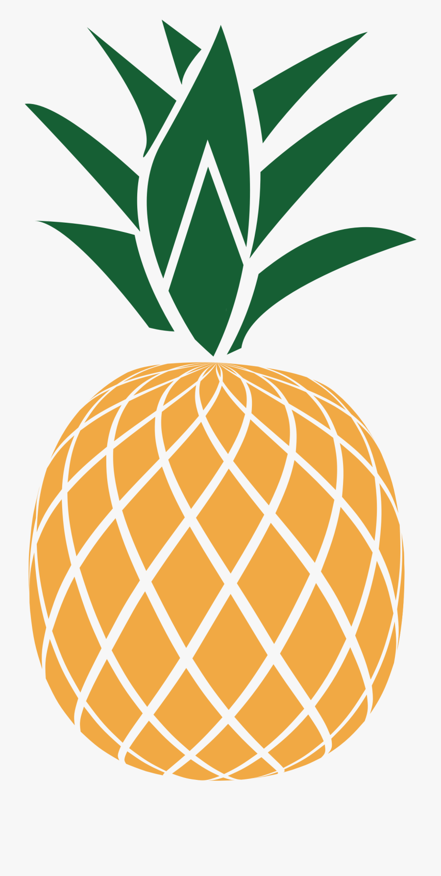 Free Download Pineapple Vector Clipart Pineapple Clip - Black And White Pineapple Clipart, Transparent Clipart