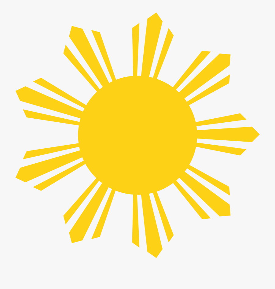 Thumb Image - Philippine Flag Sun Png, Transparent Clipart