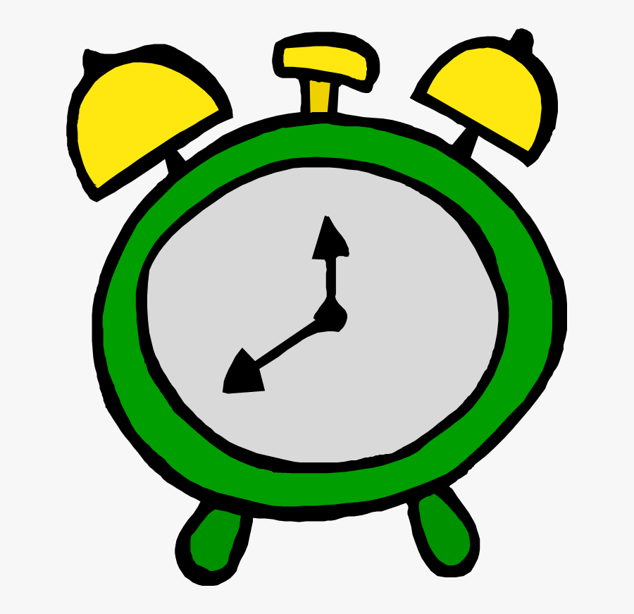 Changes In Start Times Mark New School Year - Green Alarm Clock Clipart, Transparent Clipart