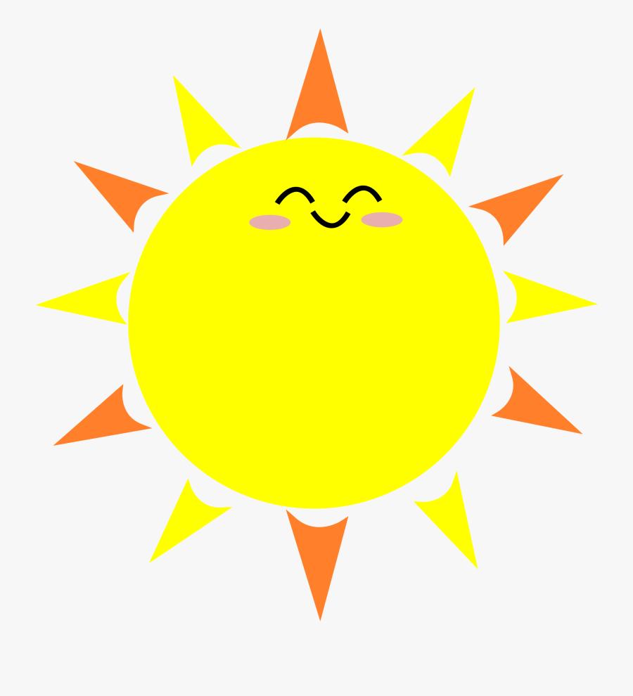 Best Sun Images - Transparent Background Sun Png Cartoon, Transparent Clipart