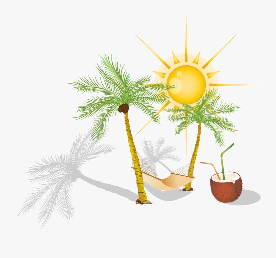 Hammock Arecaceae Clip Art - Investing For Your Future, Transparent Clipart