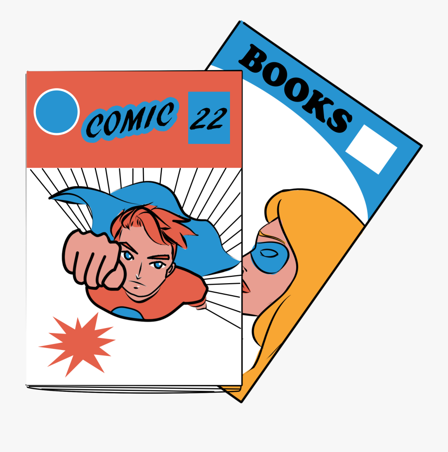 Clip Art Book Call Outs Picture - Comic Book Clipart Png, Transparent Clipart