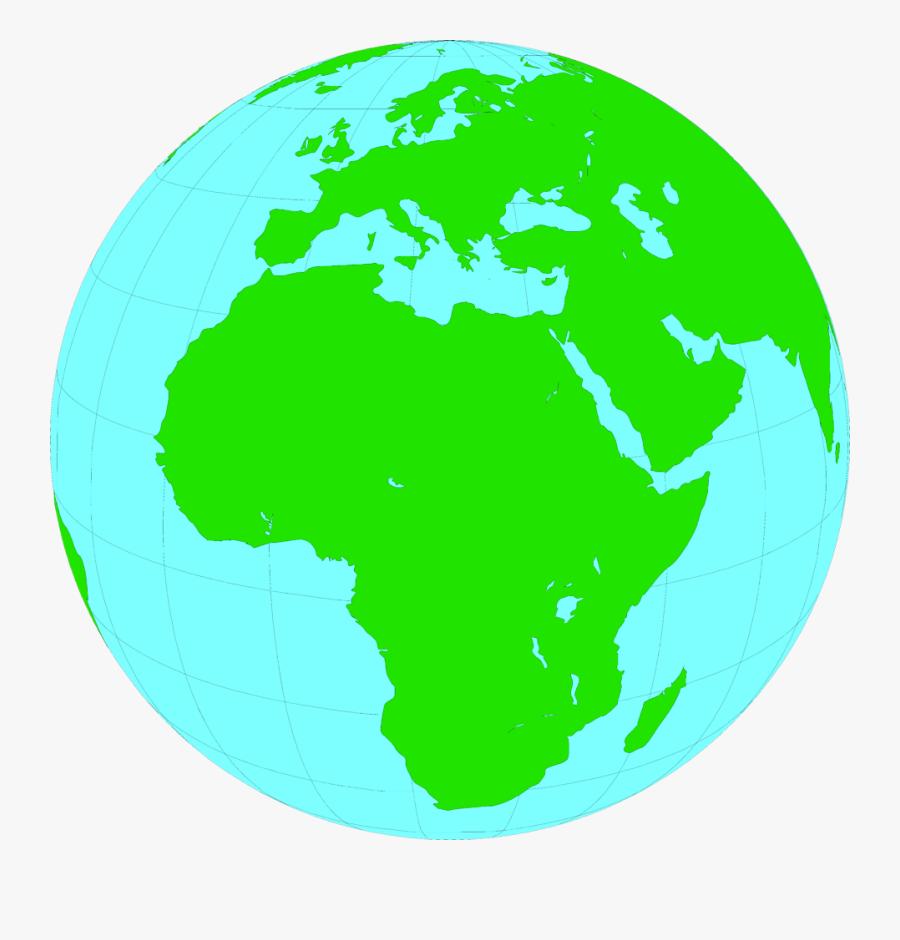 Photos Of Transparent World Globe Earth Clipart - Clipart Globe Africa, Transparent Clipart