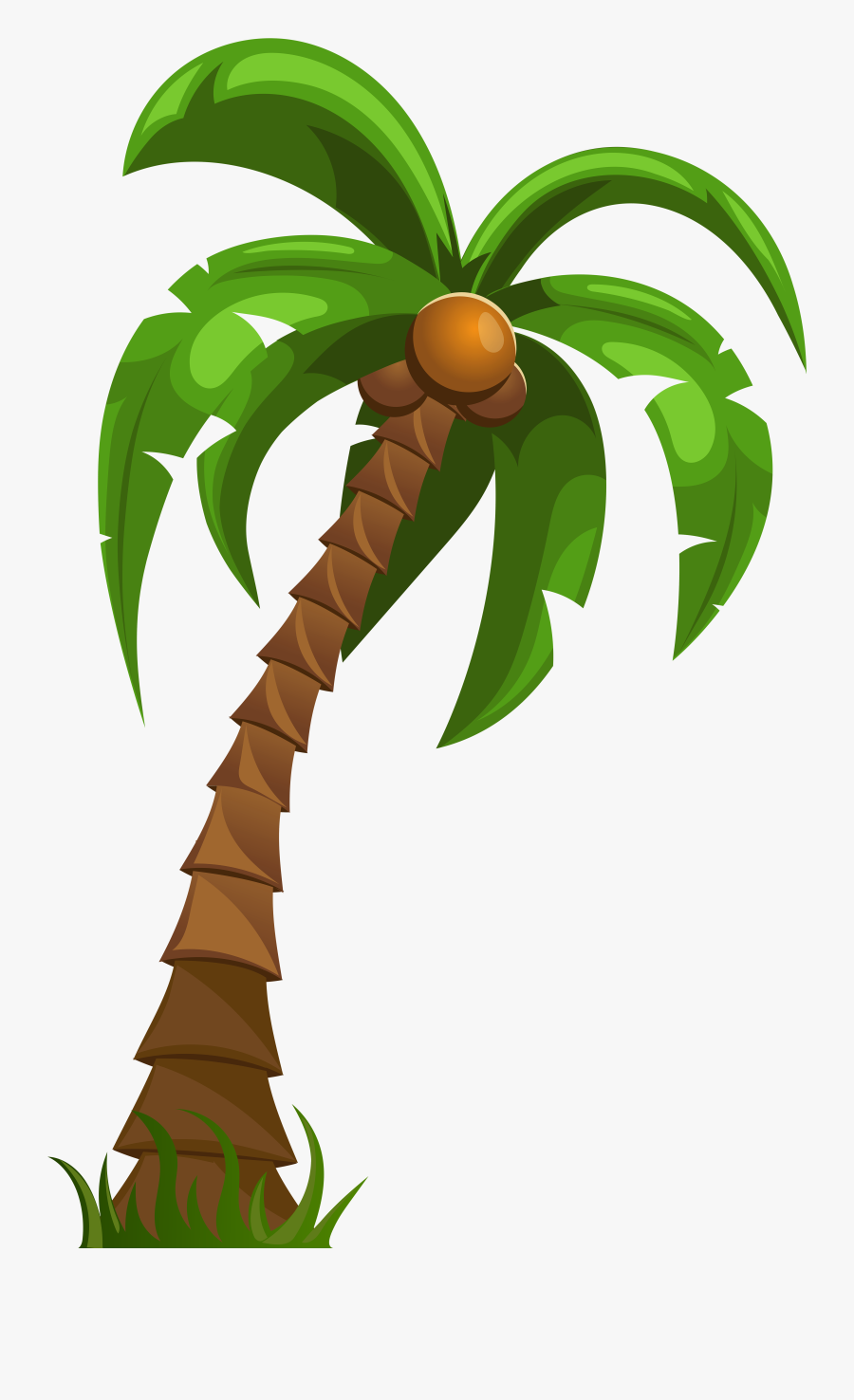 Png Clip Art Gallery - Cartoon Palm Tree Png, Transparent Clipart