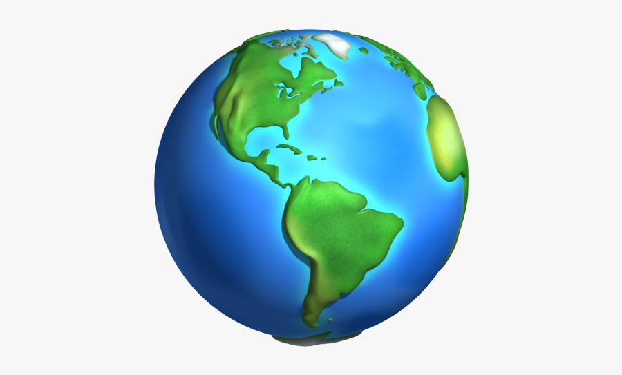 Cartoon World Planet Earth - Planet Earth 3d Transparent, Transparent Clipart
