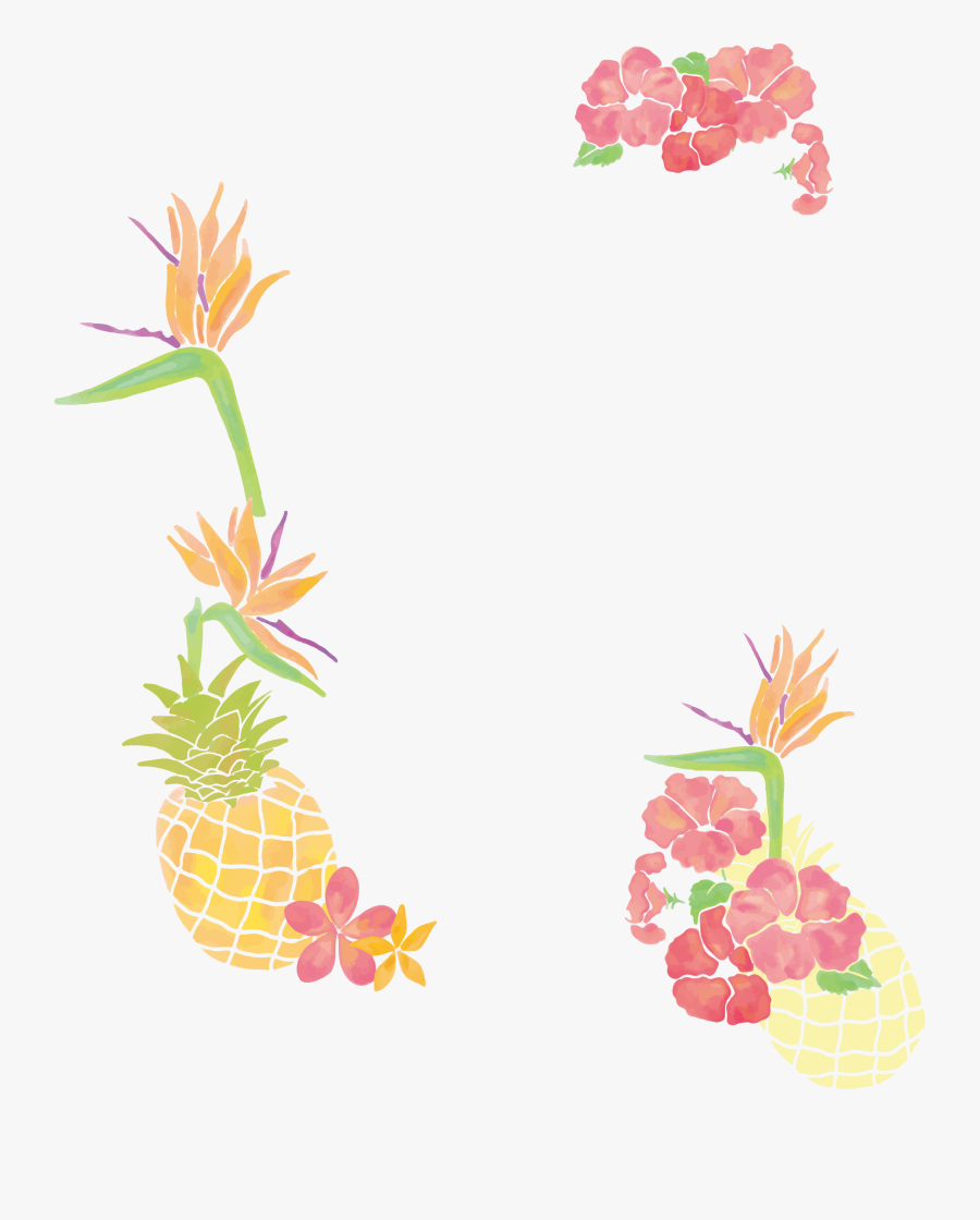 Pineapple Clip Art Small - Free Pineapple Clip Art Border, Transparent Clipart