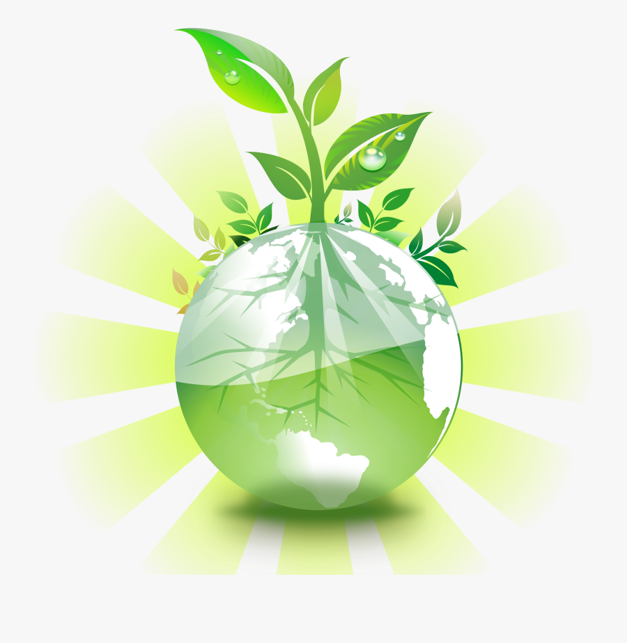 Thumb Image - Green Earth Png, Transparent Clipart