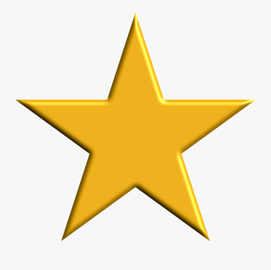 Clipart - Star In Philippine Flag, Transparent Clipart