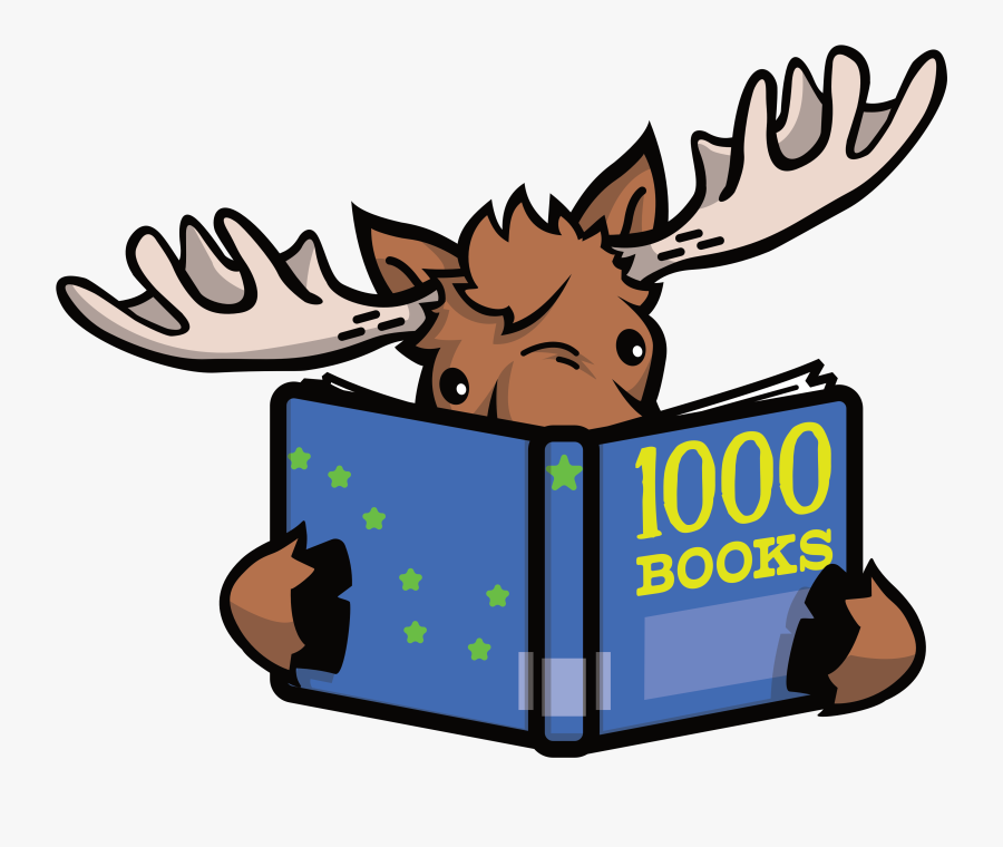 Png Library Stock Book Reading Clipart - Deer Reading A Book, Transparent Clipart