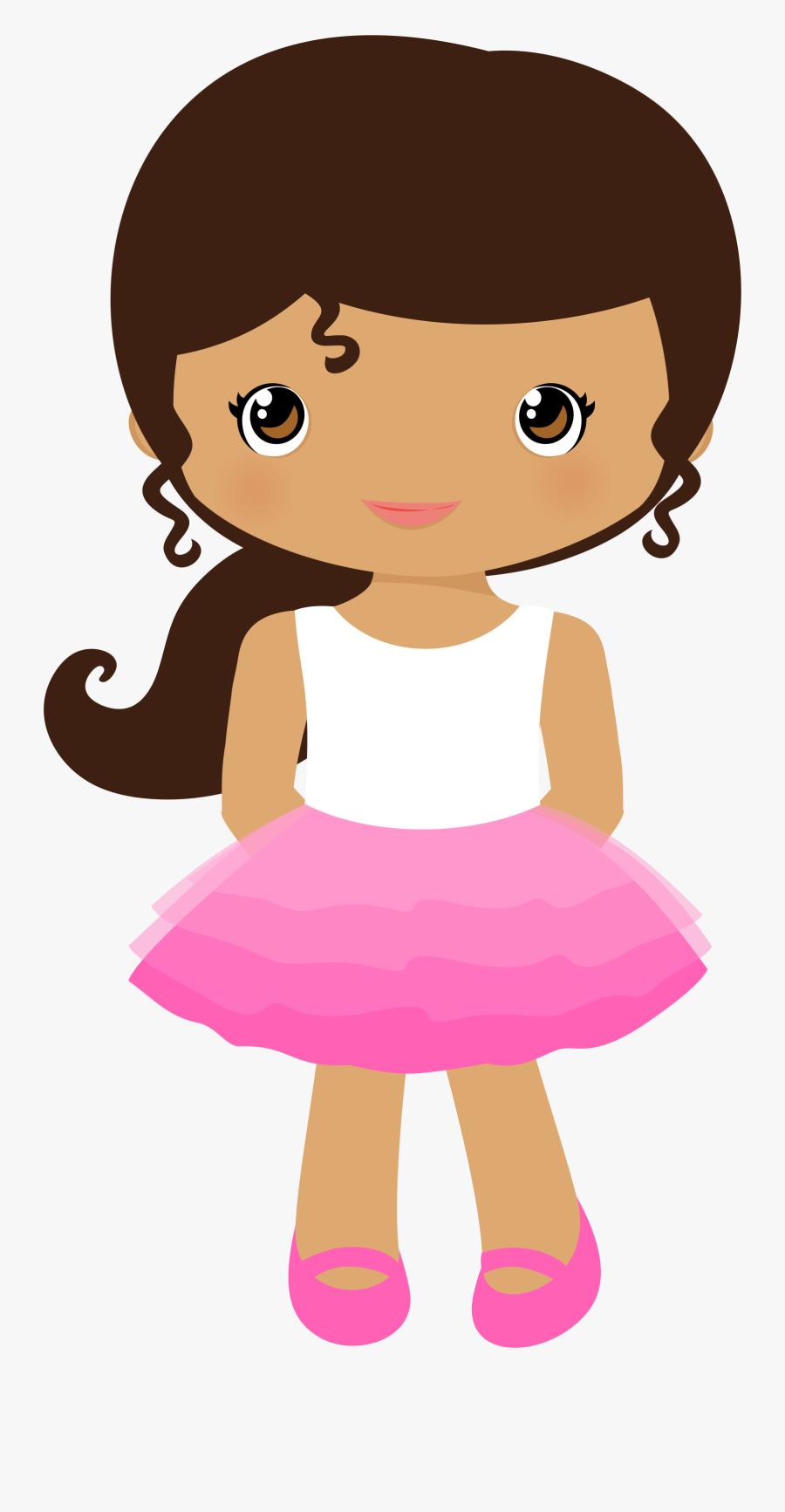 Cute Girl Clipart, Transparent Clipart