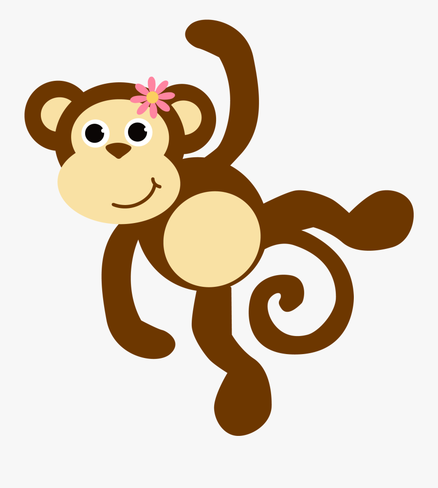 Free Images Download 2018 Monkey Clipart No Background - Safari Baby Animals Png, Transparent Clipart