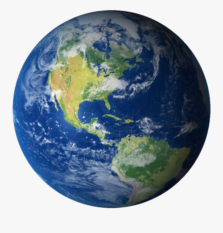 Earth Png Transparent Background - Planet Earth No Background, Transparent Clipart