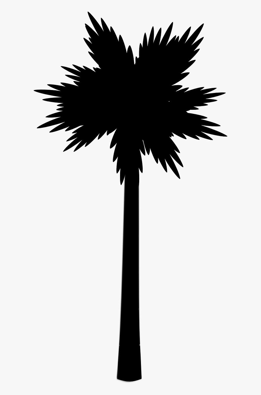 Transparent Beach Silhouette Png - Palm Tree Vector Png, Transparent Clipart