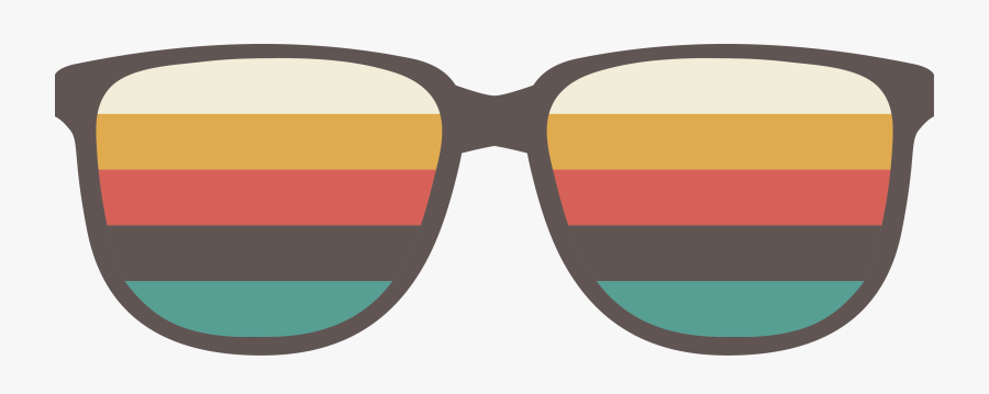 Lounge Style Sunglasses Retro Interlude Png Image High - Retro Shades Png, Transparent Clipart