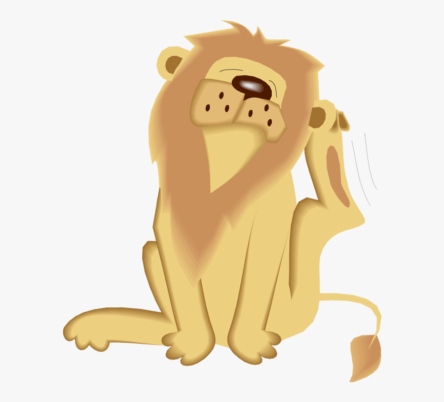 Moving Animated Images Of Lion, Transparent Clipart