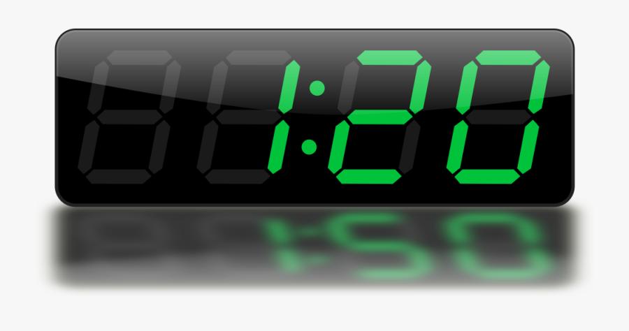 Digital Clock Clipart - Digital Clock Clipart Png, Transparent Clipart