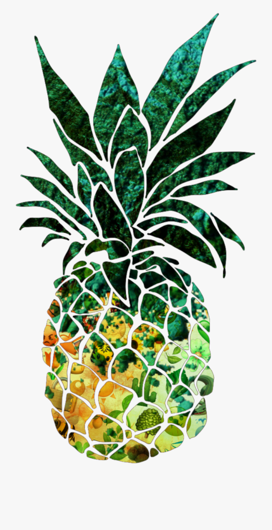 Transparent Pineapple Clipart - Minimalist Black And White Paintings, Transparent Clipart